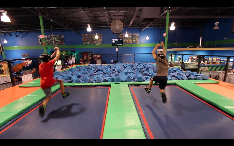 Parkour Trampoline Dodgeball Ninjas