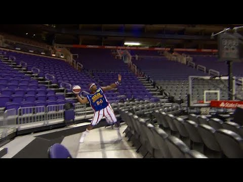 World Record Basketball Shot