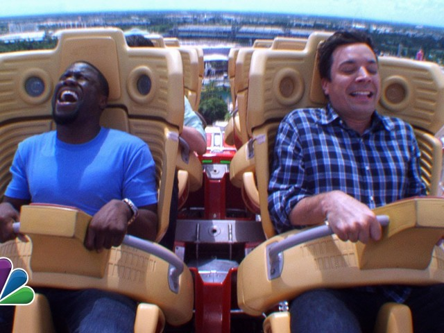 Kevin Hart and Roller Coasters