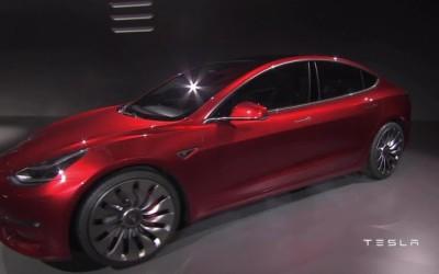 "Tesla Reveals the ""Model 3"""